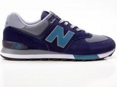 New Balance ML574FND Sneaker Herren Schuhe blau-grau