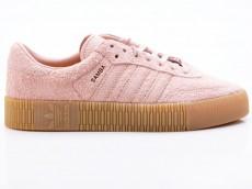 Adidas Sambarose W Damen Sneaker B37861 rose-beige-braun