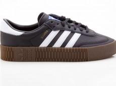 Adidas Sambarose W Damen Sneaker B28156 schwarz-weiß-braun