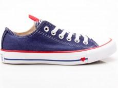 Converse Chuck Taylor All Star CTAS Ox 163308C blau-rot-weiß