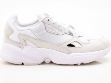 Adidas Falcon W B28128 Damen Sneaker Turnschuhe Sportschuhe weiß-grau