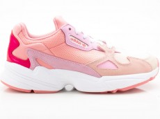 Adidas Falcon W EF1964 Damen Sneaker Turnschuhe Sportschuhe pink-weiß
