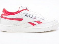 Reebok Club C Revenge MU DV7179 Herren Sneaker beige-weiß-rot-schwarz