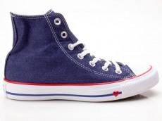Converse Chuck Taylor All Star CTAS Hi 163303C blau-rot-blau