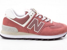 New Balance WL574CRC Damen Freizeit Turnschuhe 658621-50 13 rosa-grau-weiß