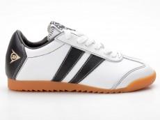 Dunlop Front Trainer weiß-schwarz 76803-07b Glattleder