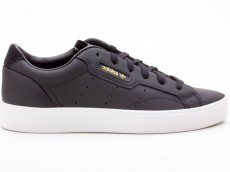 Adidas Sleek W CG6193 Damen Sneaker schwarz-weiß