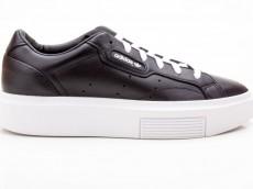 Adidas Sleek Super W EE4519 Damen Sneaker schwarz-weiß