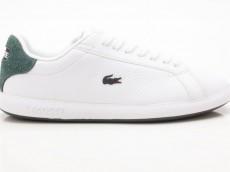 Lacoste Graduate 319 1 SFA Damen Sneaker LTH / SYN weiß-grün