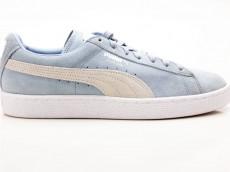 Puma Suede Classic+ 363242 06 Sneaker Turnschuhe Schuhe blau-weiß