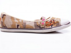 Rocket Dog Pussycat Damen Schuhe Canvas camouflage
