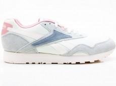 Reebok Rapide CN7540 Damen Sneaker beige-blau-grün-rose