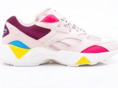 Reebok Aztrek 96 DV6470 Damen Sneaker rosa-rot-pink-blau