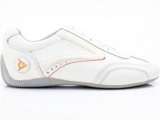 Dunlop Grand Prix Crack Crazy Horse Damen Sneaker weiß-grau
