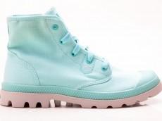 Palladium Pampa Hi Lite 92667457 Damen Stiefel blau-grau