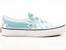Vans Classic Slip-On Checkerboard VN0A38F7VLU1 blau-weiß