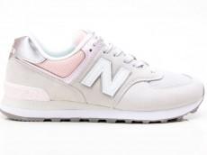 New Balance WL574SOT Damen Freizeit Turnschuhe 775091-50-121 grau-pink
