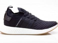 Adidas NMD_R2 PK Schuhe Herren Originals Sneaker BY9696 schwarz-weiß