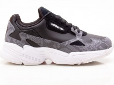 Adidas Falcon W FV4483 Damen Sneaker Turnschuhe Sportschuhe schwarz-grau-weiß