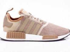 Adidas NMD_R1 Schuhe Unisex Originals Sneaker B79760 braun-weiß