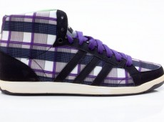 Adidas Adi Hoop MID W Damen Sneaker G17705 schwarz-weiß