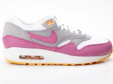 Nike Air Max 1 Essential grau-pink 599820 107
