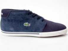 Lacoste Ampthill TBC SPM dunkelblau Canvas/Leather