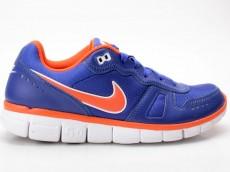 Nike Free Waffle AC Leather blau-orange 454397 401
