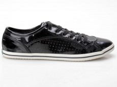 Buffalo 507-9987 Patent Pu Black 652 White Sole