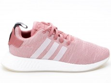 Adidas NMD_R2 W Schuhe Damen Originals Sneaker CQ2007 rosa-weiß