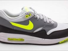 Nike Air Max 1 Essential grau schwarz grün 537383 070
