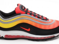 Nike Air Max 97 Premium orange gelb schwarz 554716 887