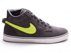Nike Braata MID dunkelgrau neongrün 472644 071
